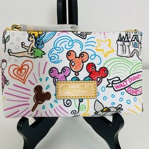 Dooney & Bourke Disney Makeup Bag Cosmetic Case